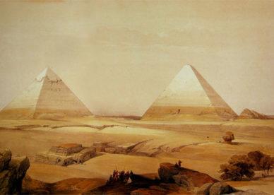 أجمل صور لوحات زيتية مرسومة للأهرامات المصرية-عالم الصور -عالم الصور