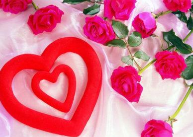 أجمل الصور الرومانسية قلوب حب وزهور Flowers And Hearts Photos-عالم الصور