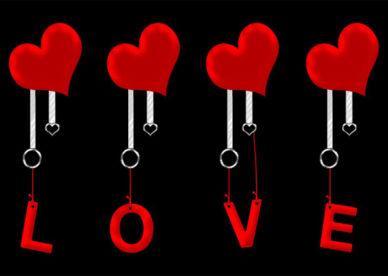 صور قلوب حب مكتوب عليها Love-عالم الصور