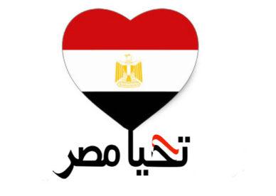 أحلى صور للعلم المصري على شكل قلب تحيا مصر -عالم الصور