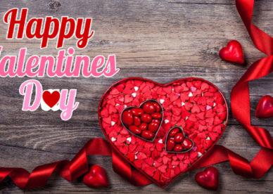 أجمل صور قلوب عيد الحب مكتوب عليها Happy Valentine's Day-عالم الصور