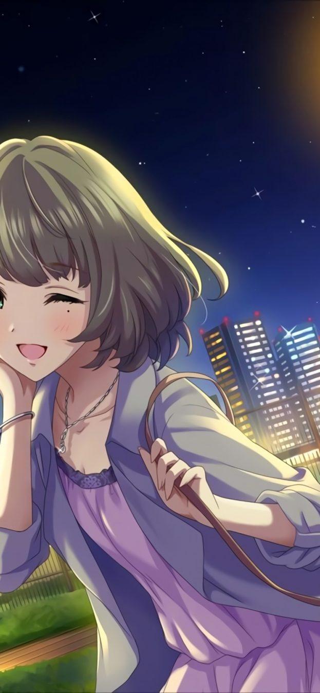 صور انمي خلفيات رائعة لهواتف الآيفون iPhone X Anime-عالم الصور