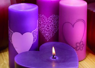 صور شموع رومانسية جديدة Romantic Candles 2018-عالم الصور