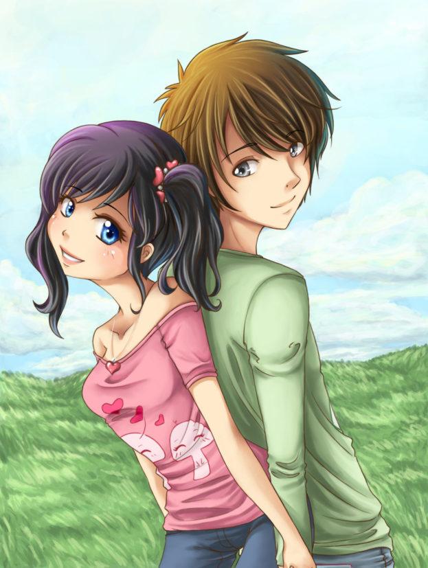 صور متحركة (2) - صفحة 46 Love-forever-romantic-anime-623x827