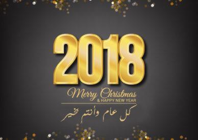 العام الجديد 2018 بالصور-عالم الصور