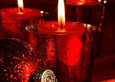 أجمل صور شموع رومانسية حمراء حب بنات-عالم الصور