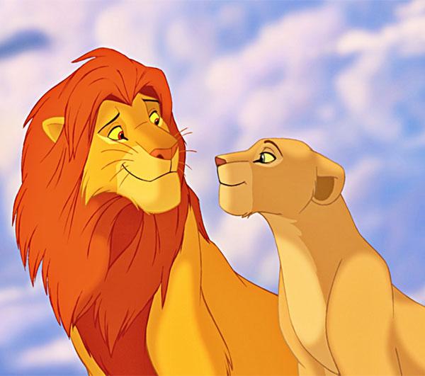 صور كرتون الاسد سيمبا ونالا Simba And Nala Cartoon Lions-عالم الصور