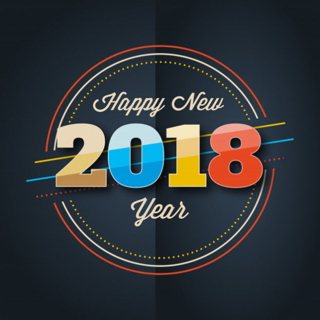 اجمل صور تهنئة العام الجديد 2018 بطاقات ورمزيات رأس السنة الميلادية-عالم الصور