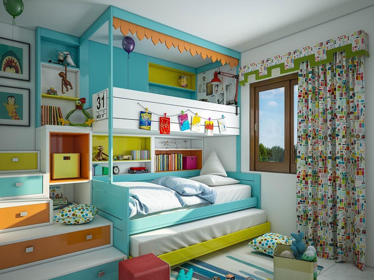 7 Inspiring Kid Room Color Options For Your Little Ones: صور ديكورات منازل بسيطة تصميمات عالمية