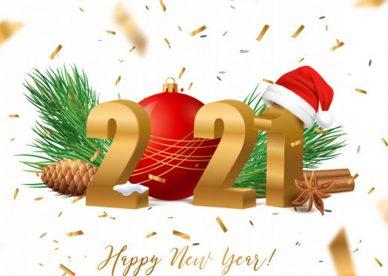 خلفيات رأس السنة 2021 - عالم الصور